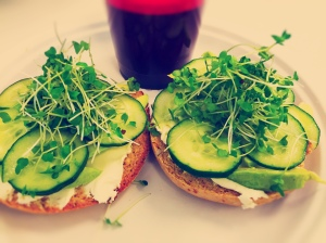 Green Goddess Bagel