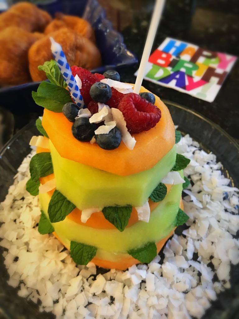 Breakfast Birthday Cake Divingintovinoagain